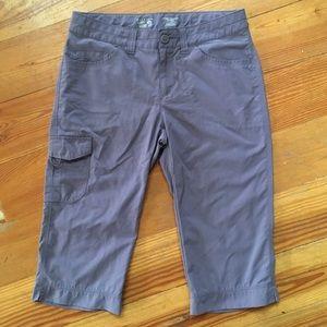 Mountain Hardwear Hiking Capris, Size 8 / 10